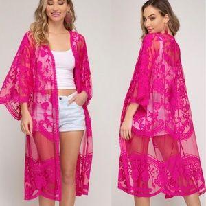 Other - Magenta Mania Kimono